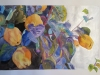 2020. Membrillos nocturnos. Acuarela y tinta china, 70 x 50 cm.