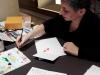 Calligraphie et aquarelles pour L.V. 2017