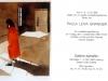 Abric vermell 1992 postal per Galerie Alphaflor Freiburg Alemanya Aquarel·la sobre paper