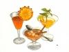 Cocktail Bar. Terrasse d'été. Aquarelle et encre. Hôtel Belagua. NH Hoteles