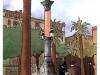 Plaza Medinaceli, Barcelona. Acquerello e china. Rivista Barcelona Metrópolis Mediterránea