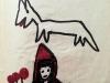 Le loup et Petit chaperon rouge. Septembre 1965