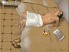 Valeria avec éventail 2, 2002. Huile sur toile